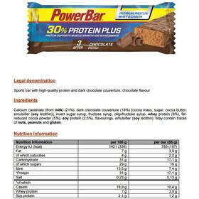 PowerBar ProteinPlus 30% Bar Box 15x55g, Chocolate